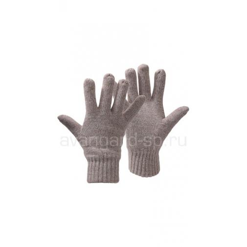 Перчатки шерстяные утепленные