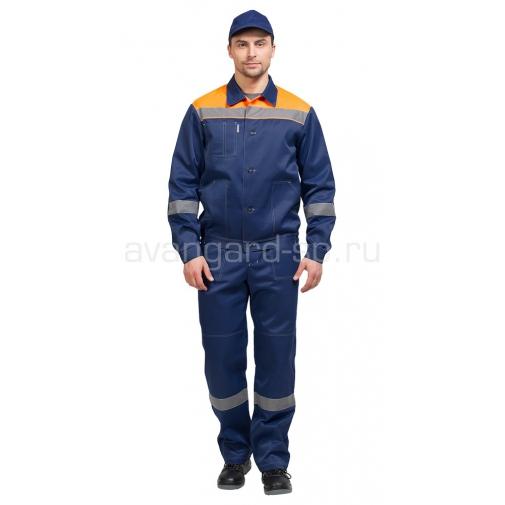 """Костюм """"Легион"""" NEW Т синий + оранжевый"""