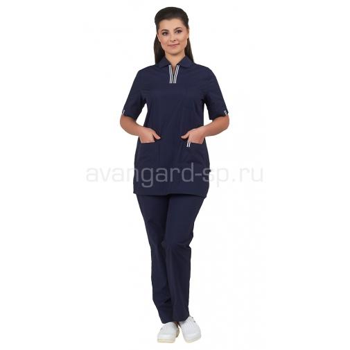 """Комплект женской одежды """"Аура"""" Синий"""