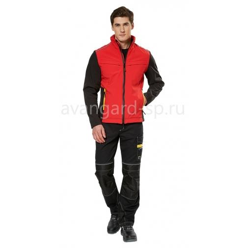 """Куртка софтшелл """"Тайм"""" Красный"""