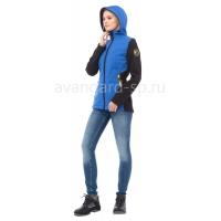 """Куртка женская софтшелл """"Тайм"""" с капюшоном"""
