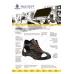"""Ботинки рабочие летние/демисезонные """"Практик"""" с МП цвет черный"""