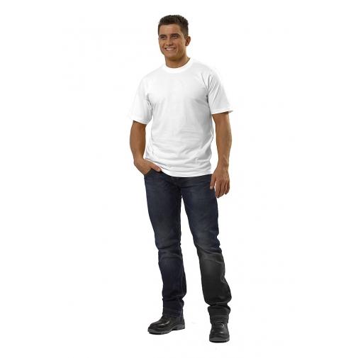 Футболка мужская с коротким рукавом цвет белый