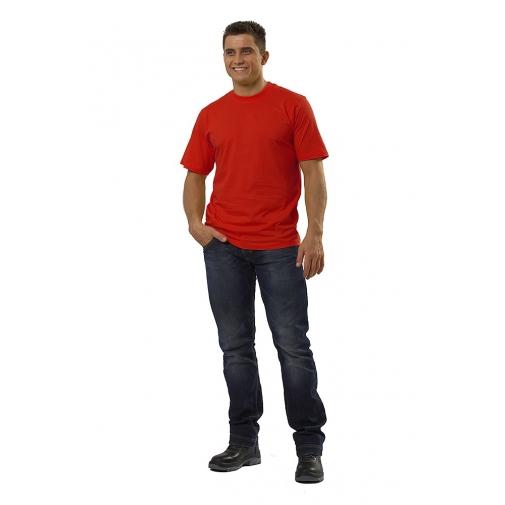 Футболка мужская с коротким рукавом цвет красный