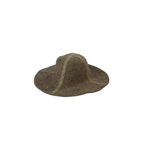 Шляпа металлурга цвет коричневый