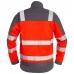 Куртка Engel Safety 1501-770, сигнальный красный/серый