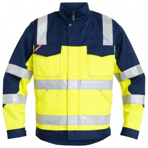 Куртка Engel Safety 1501-770, сигнальный желтый/синий