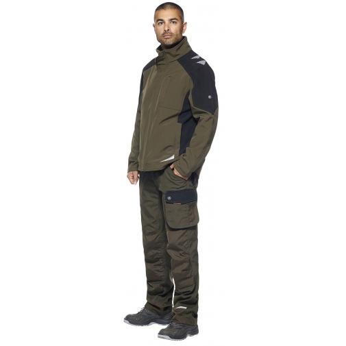 Куртка Engel Galaxy 8810-229, хаки/черный