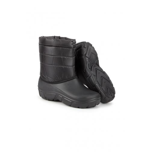 Сапоги ЭВА зимние утепленные укороченные цвет черный