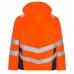 Женская зимняя рабочая куртка Engel Safety 1943-930, сигнальный оранжевый/синий