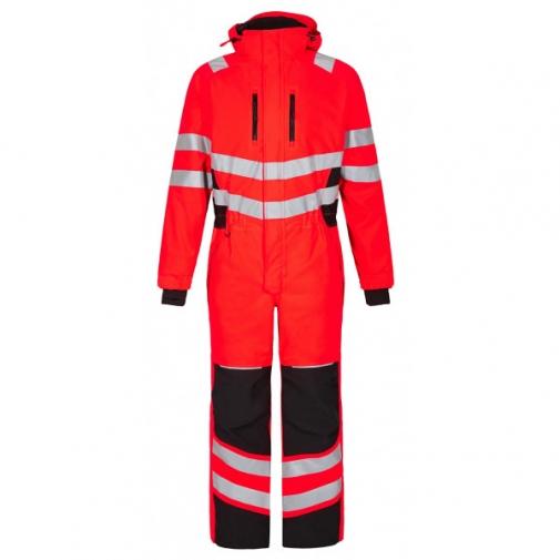 Зимний рабочий комбинезон Engel Safety 4946-930, красный/черный