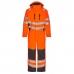 Зимний рабочий комбинезон Engel Safety 4946-930, оранжевый/серый