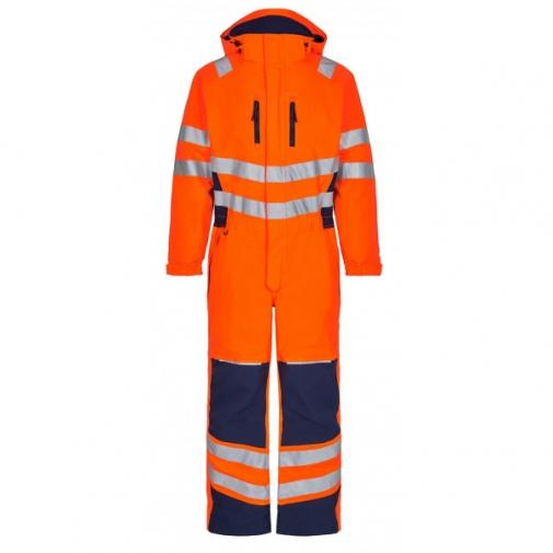 Зимний рабочий комбинезон Engel Safety 4946-930, оранжевый/синий