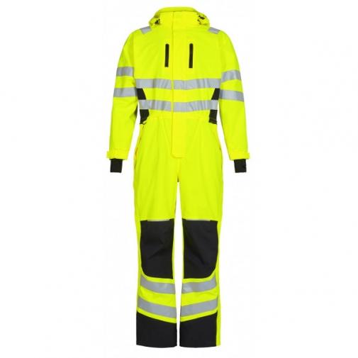 Зимний рабочий комбинезон Engel Safety 4946-930, желтый/черный
