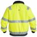 Зимняя рабочая куртка Engel Safety 1172-928, сигнальный желтый/синий