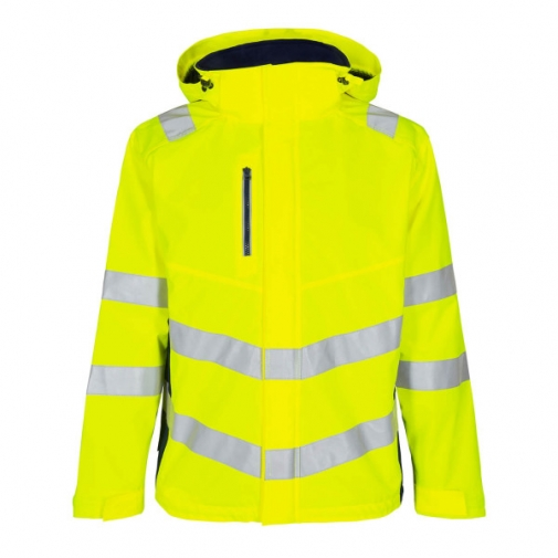 Демисезонная рабочая куртка Engel Safety 1146-930, сигнальный желтый/синий