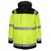 Зимняя рабочая куртка-парка Engel Safety 1400-928, сигнальный желтый/черный