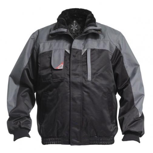 Зимняя рабочая куртка Engel Enterprise 1970-912, черный/серый