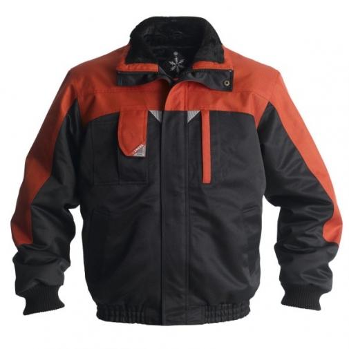 Зимняя рабочая куртка Engel Enterprise 1970-912, черный/оранжевый
