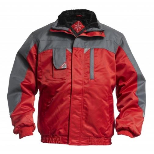 Зимняя рабочая куртка Engel Enterprise 1970-912, красный/серый