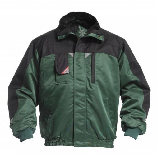 Зимняя рабочая куртка Engel Enterprise 1970-912, зеленый/черный