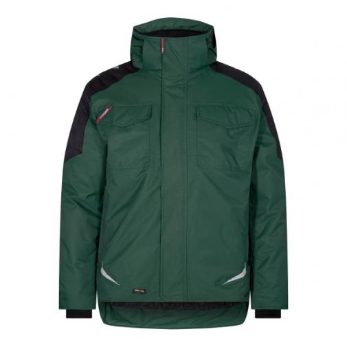 Зимняя рабочая куртка Engel Galaxy 1410-354, зеленый/черный