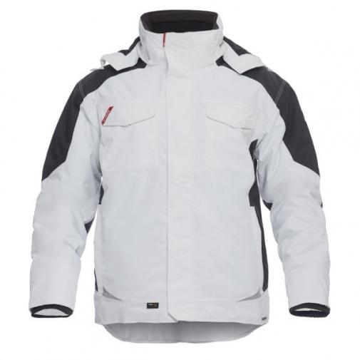 Зимняя рабочая куртка Engel Galaxy 1410-354, белый/серый