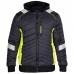 Демисезонная рабочая куртка Engel Cargo 1870-224, черный/желтый
