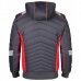 Демисезонная рабочая куртка Engel Cargo 1870-224, серый/красный