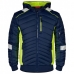 Демисезонная рабочая куртка Engel Cargo 1870-224, синий/желтый