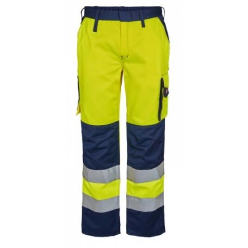 Женские сигнальные брюки Engel Safety 2541-770, сигнальный желтый/темно-синий