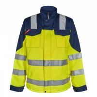 Женская рабочая куртка Engel Safety 1541-770, желтый/темно-синий