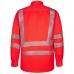 Сигнальная рубашка Engel Safety 7011-194, сигнальный красный