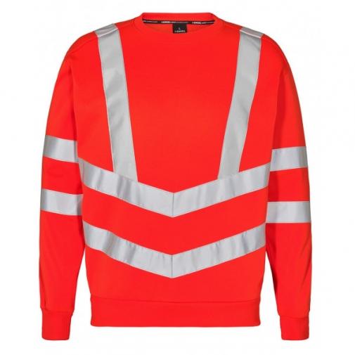 Сигнальная толстовка Engel Safety 8021-241, сигнальный красный