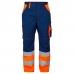 Сигнальные брюки Engel 2505-785, сигнальный оранжевый/синий