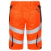 Сигнальные шорты Engel Safety 6545-319, сигнальный оранжевый/серый