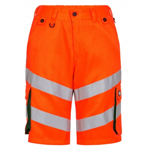 Сигнальные шорты Engel Safety 6545-319, сигнальный оранжевый/зеленый