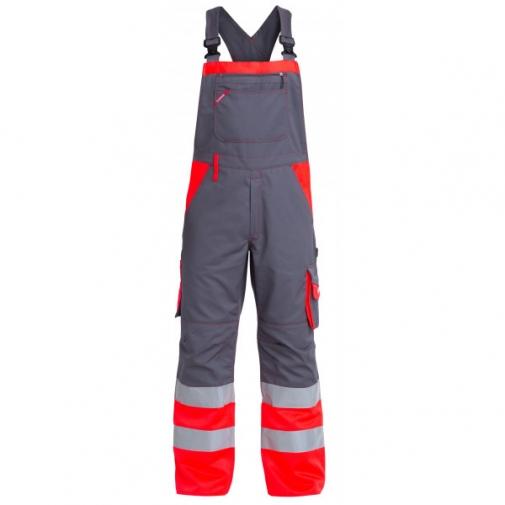 Рабочий полукомбинезон Engel 3515-785, красный/серый
