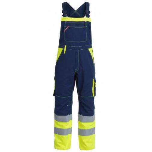 Рабочий полукомбинезон Engel 3515-785, желтый/синий