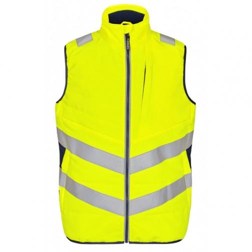 Сигнальный стеганый жилет Engel Safety 5159-158 сигнальный желтый/синий