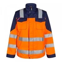 Женская рабочая куртка Engel Safety 1541-770,оранжевый/темно-синий