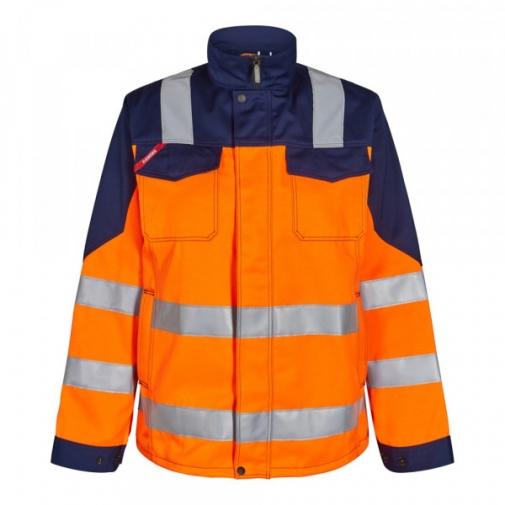 Женская рабочая куртка Engel Safety 1541-770, сигнальный оранжевый/темно-синий