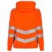 Женская сигнальная толстовка Engel Safety 8027-241, сигнальный оранжевый/серый