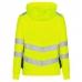 Женская сигнальная толстовка Engel Safety 8027-241, сигнальный желтый/черный
