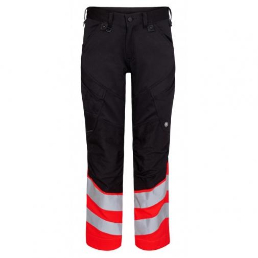 Сигнальные брюки Engel Safety 2546-314 сигнальный красный/черный
