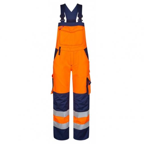 Женский сигнальный полукомбинезон Engel Safety 3541-770 сигнальный оранжевый/синий