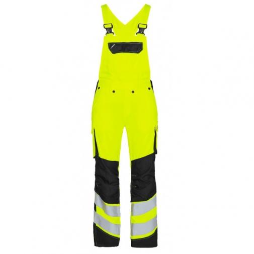 Женский сигнальный полукомбинезон Engel Safety 3543-319 сигнальный желтый/черный
