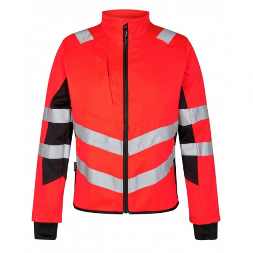 Сигнальная куртка Engel Safety 1544-314 сигнальный красный/черный