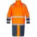 Сигнальный плащ-дождевик Engel Safety 1917-102, сигнальный оранжевый/синий