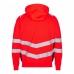 Толстовка сигнальная Engel Safety Sweat Cardigan 8025-241 сигнальный красный/черный
